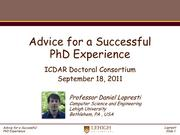 Advice for a Successful PhD Experience.pdf